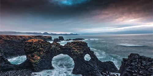 Iceland morning light