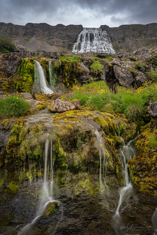 Waterfall Photography during Iceland photography workshop