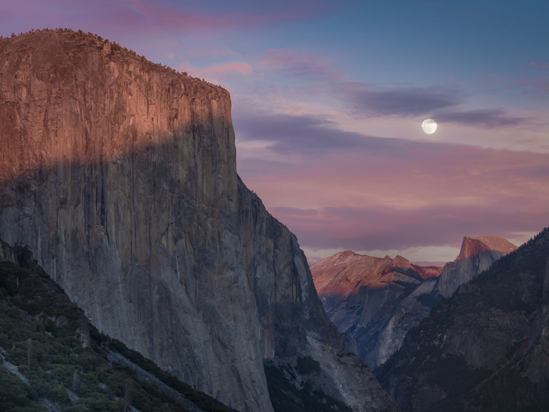 Yosemite Private Photography Workshop at sunset