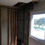 Bedroom Water Damage Before