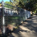 Chain Link Fence Painting