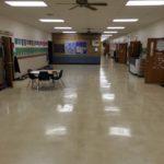 Floor Care DeMotte Christian School Before