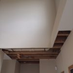 Restoration of Ceiling Before