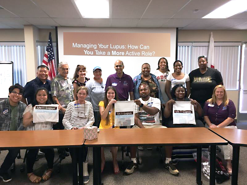 Lupus Foundation of Southern California August 2019 Support Group