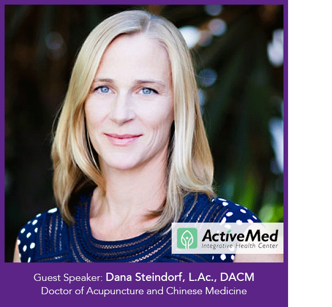 Dana Steindorf of ActiveMed Integrative Health Center