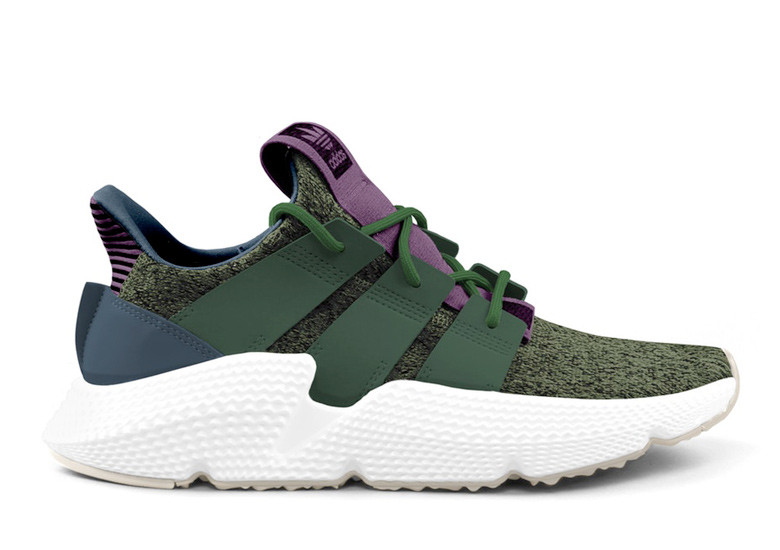 Perfect Cell DBZ Adidas collab sneakers image