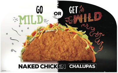 Naked Chicken Chalupa in mild or wild image