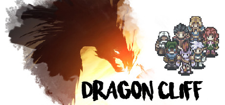 Dragon Cliff video game title screen