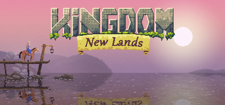 Kingdom New Lands title screen from Steam
