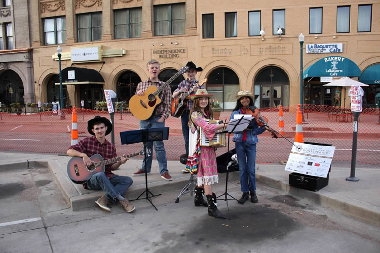 Students of the Colorado Springs Conservatory - Entertainment