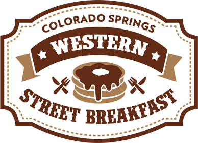 Colorado Springs Western Street Breakfast Logo
