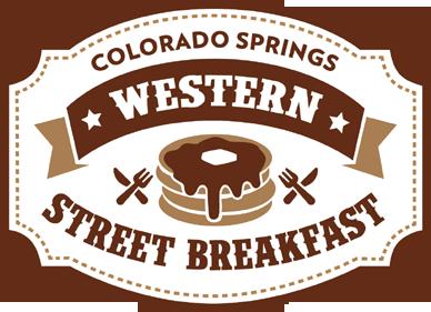 Colorado Springs Western Street Breakfast Logo