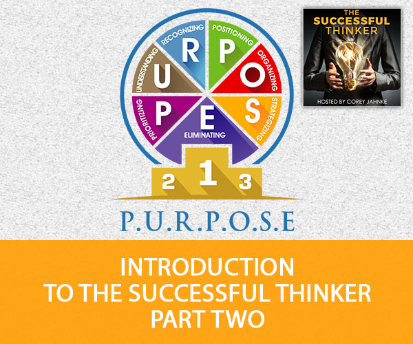 Introduction To The Successful Thinker Part Two