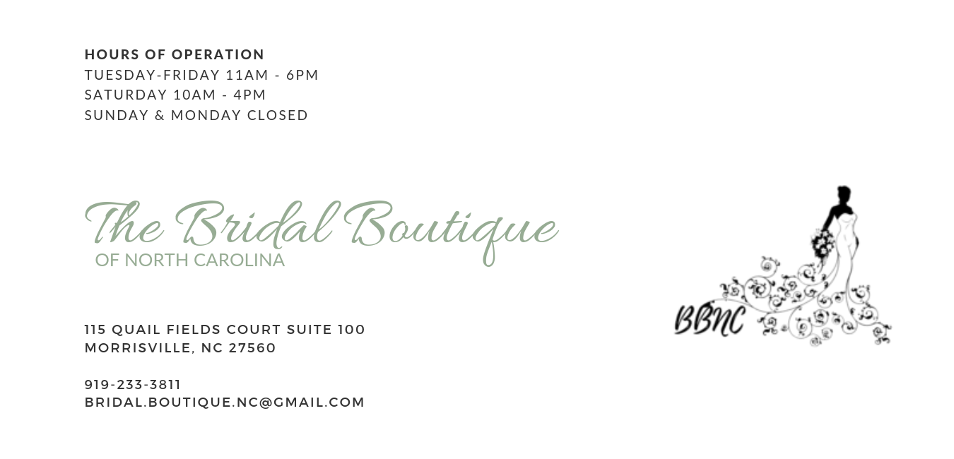 The Bridal Boutique of North Carolina