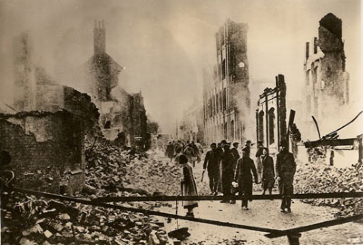 Photo from Robert Otterson's wartime log