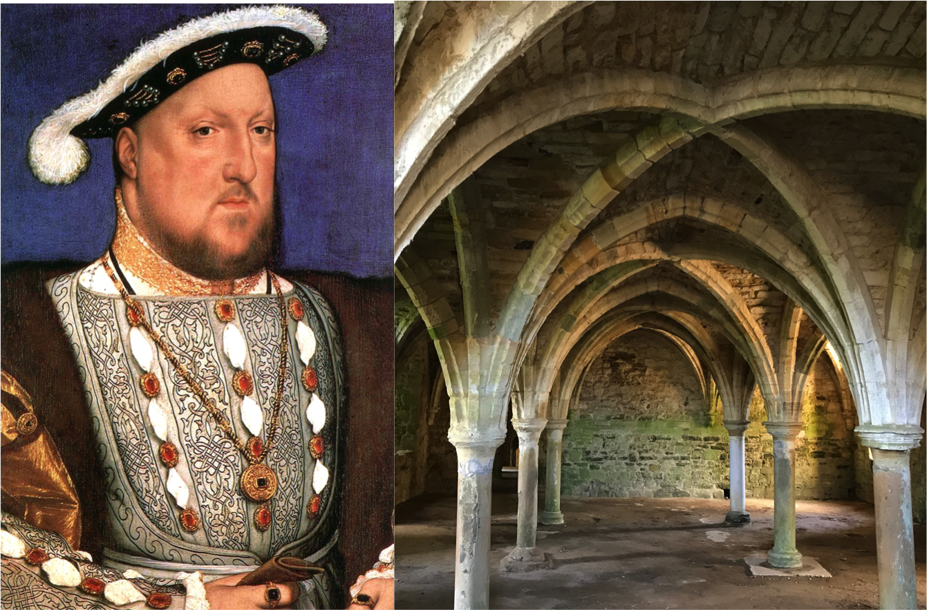 Henry VIII and abbey