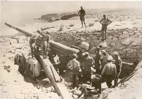 Bardia Bill artillery, WW 2