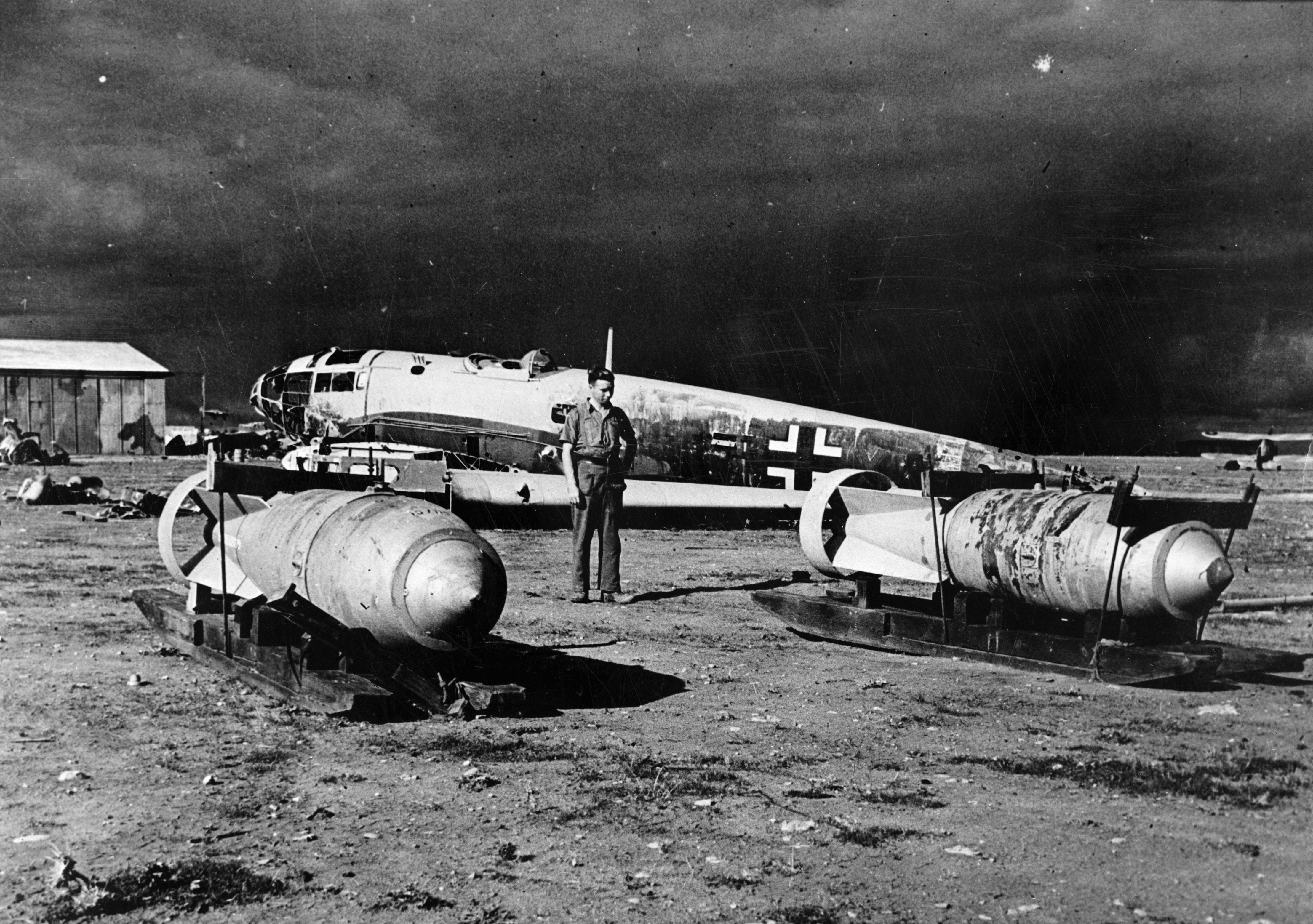 Abandoned German airfield, Benghazi 1943