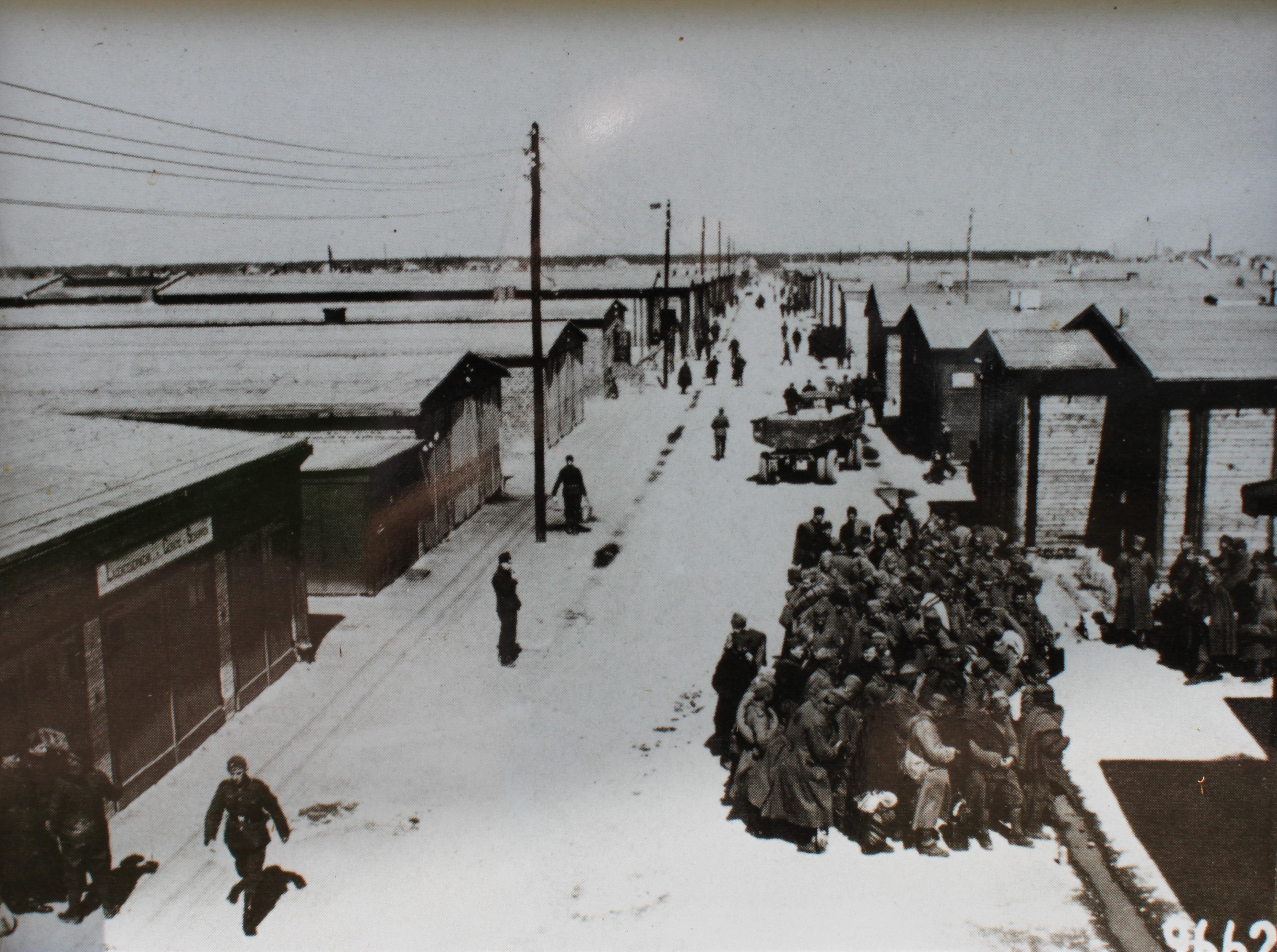 Main street at Stalag IVB