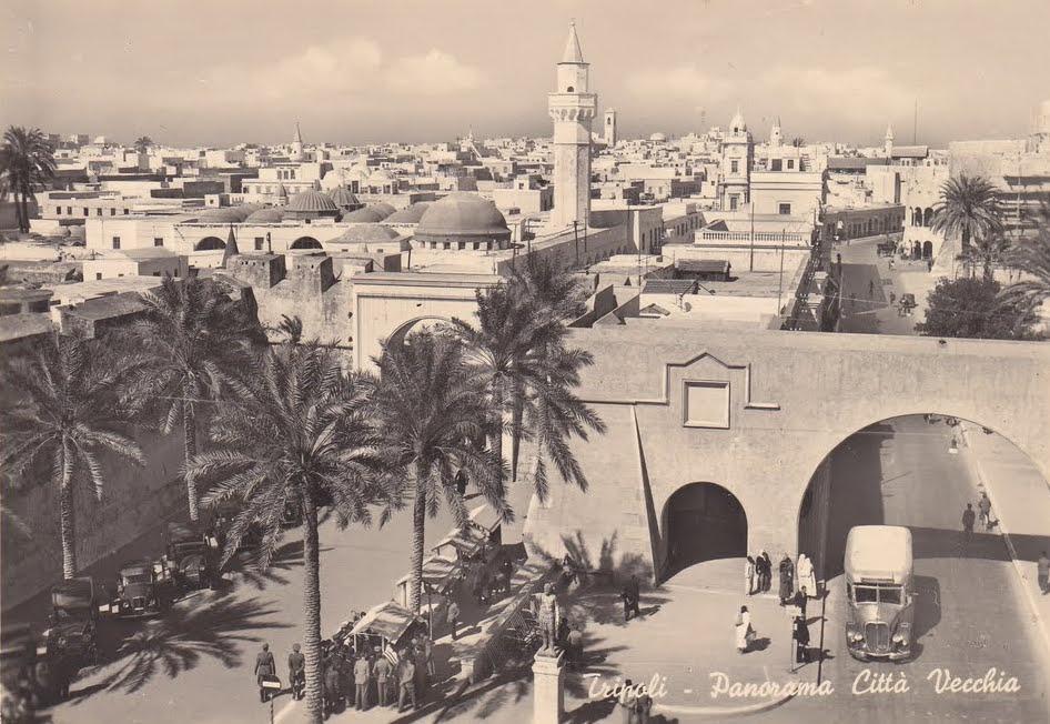 Postcard of Tripoli 1940s.