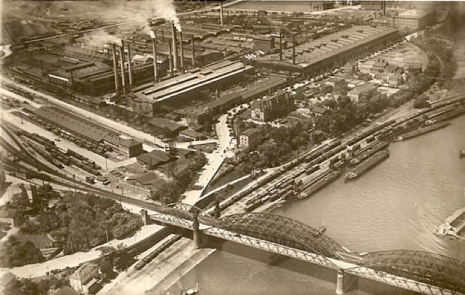 Riesa, Germany, circa 1940