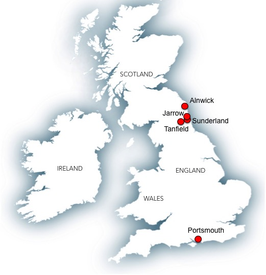 John Otterson map
