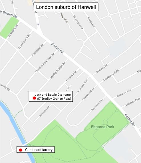 Map based on Google Maps