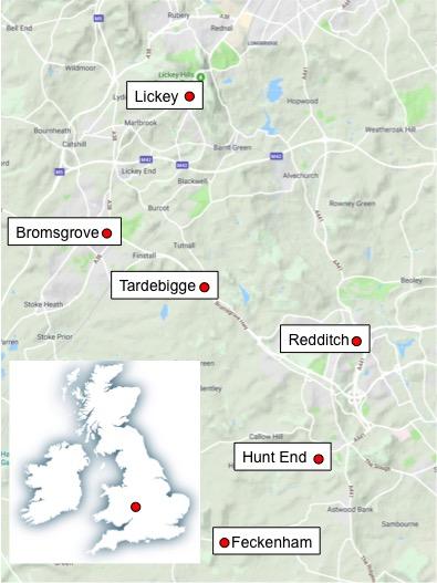 Map based on Google Maps.