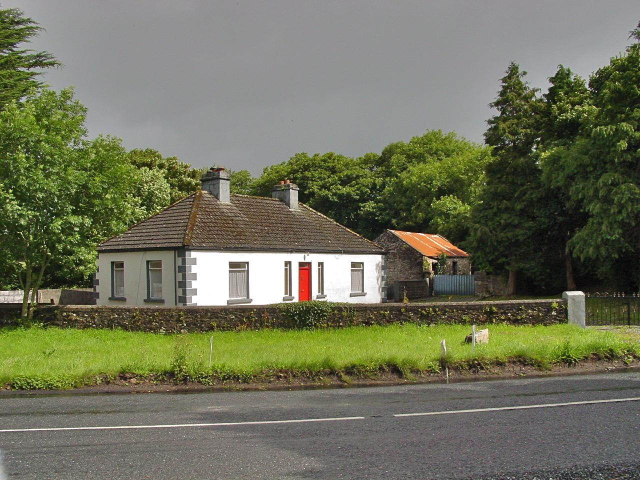 Ireland, Mayo, Ardygommon former Gibbons house