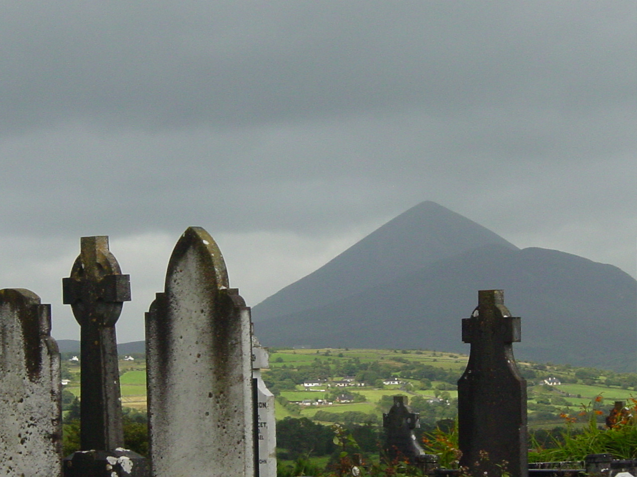 Ireland Mayo Croagh Patrich from Aghagower