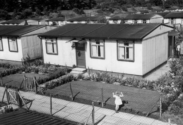 A Belle Vale prefab. Photographer unknown.