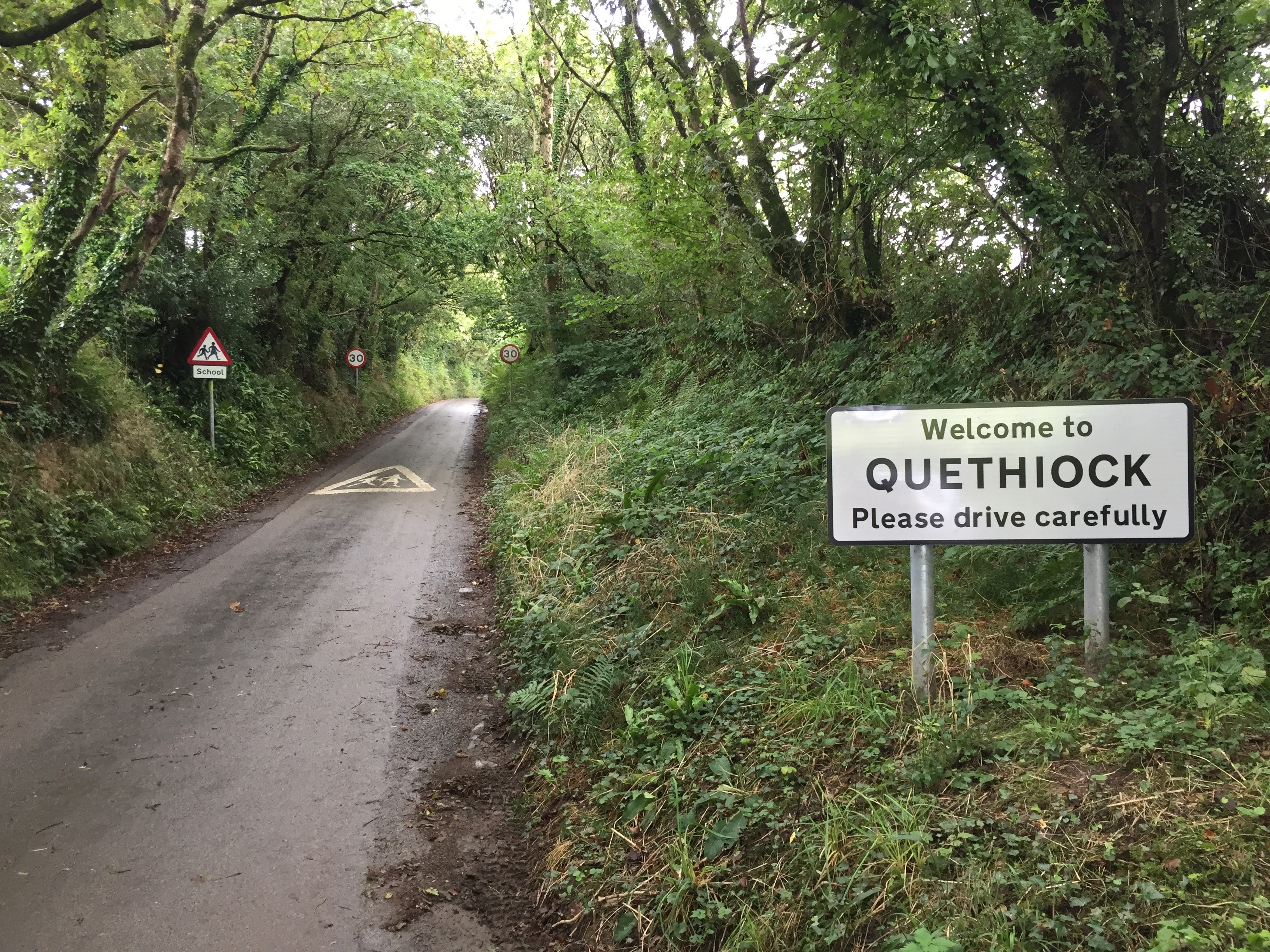 Quethiock village sign