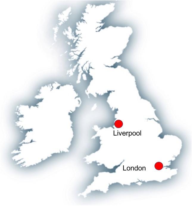Map Liverpool