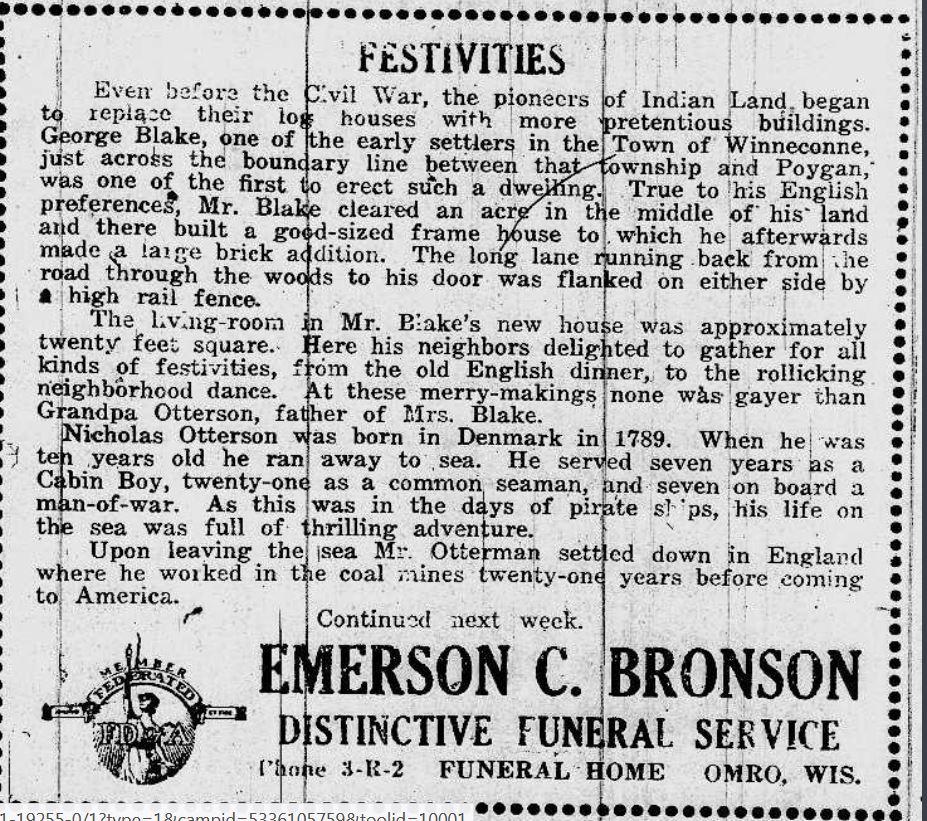 Nicholas Otterson newspaper 1