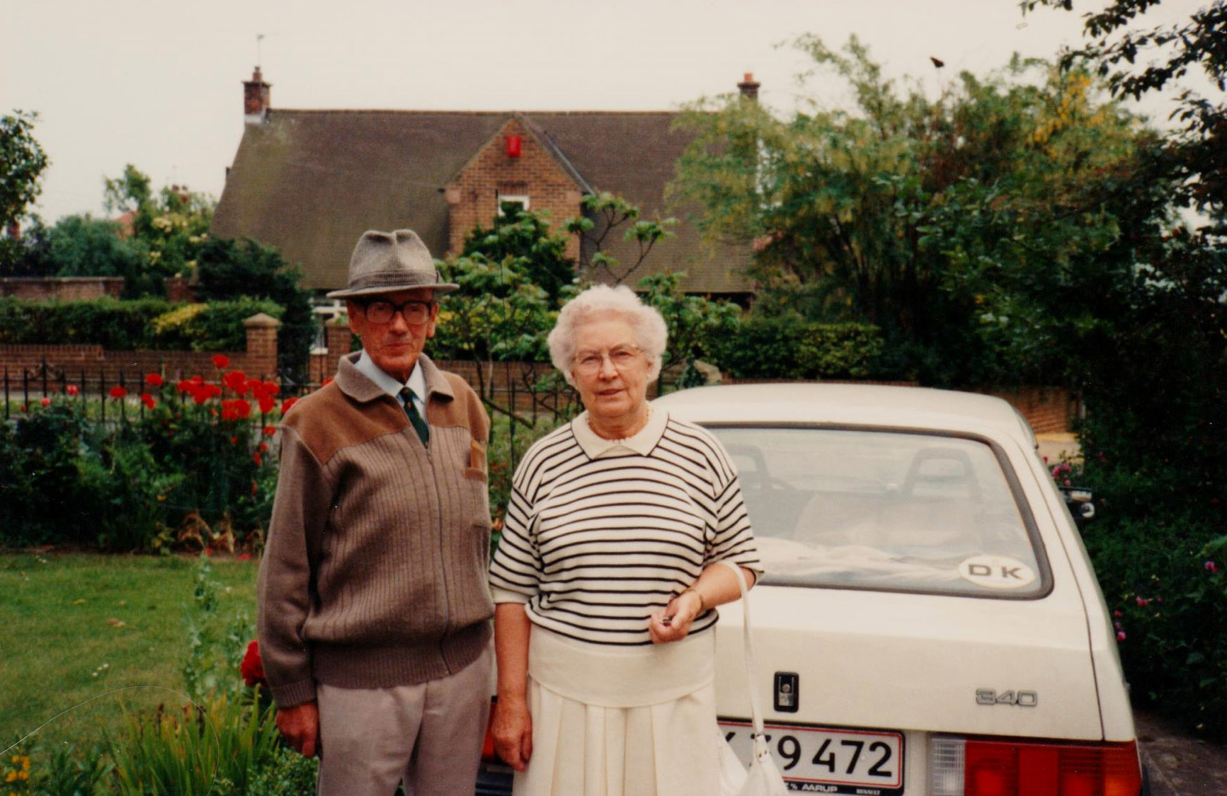 Tom and Molly Otterson in Denmark