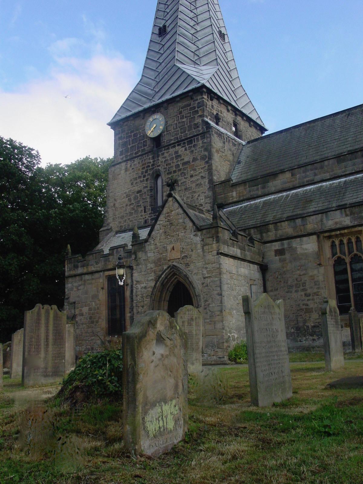 Holy Cross church, Ryton