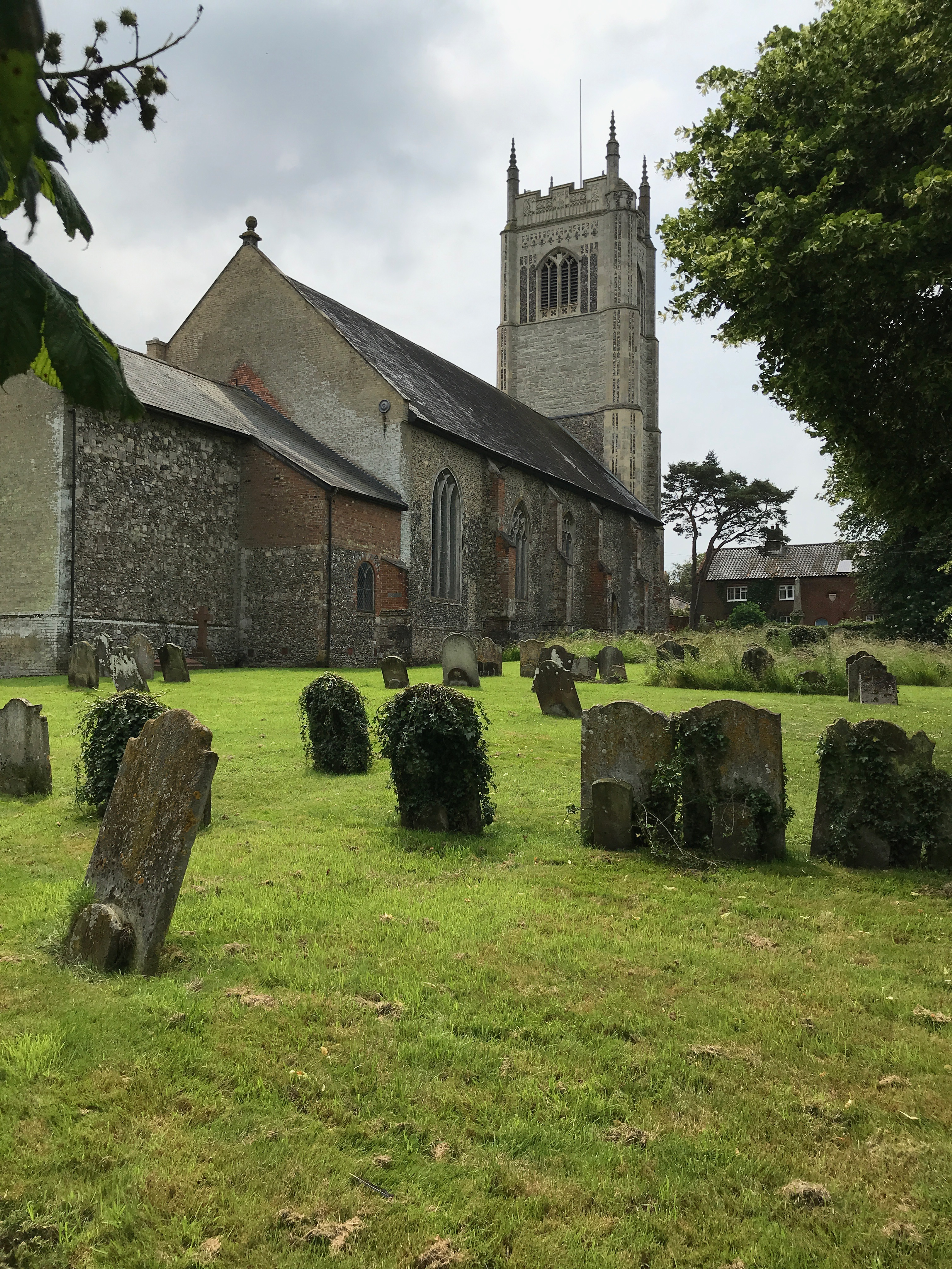 All Saints parish church, Laxfield, Suffolk