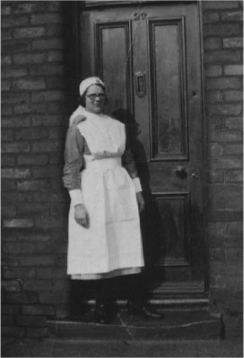 Doris Otterson, midwife and nurse.