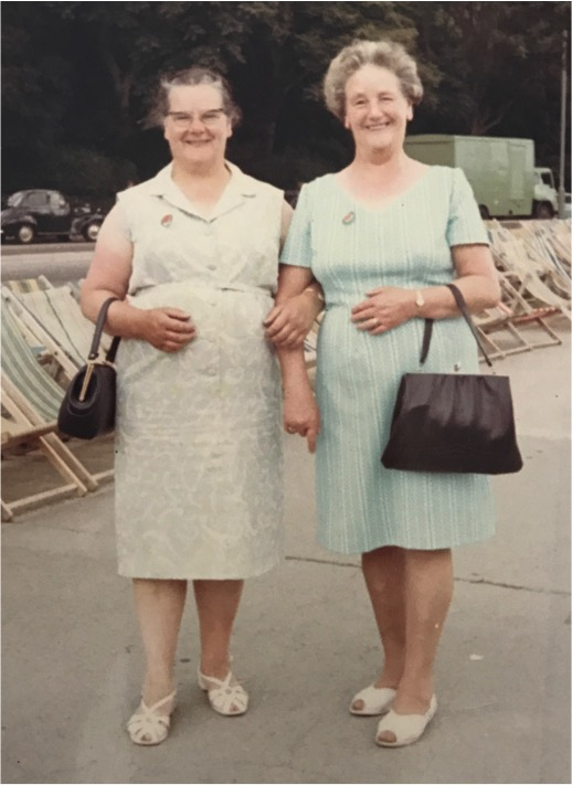 Doris Otterson and Mary Smith, sisters.