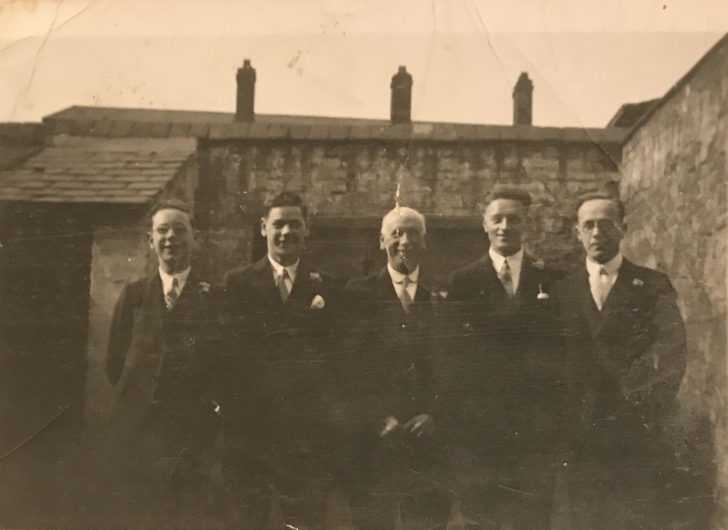 Robert Otterson with four sons
