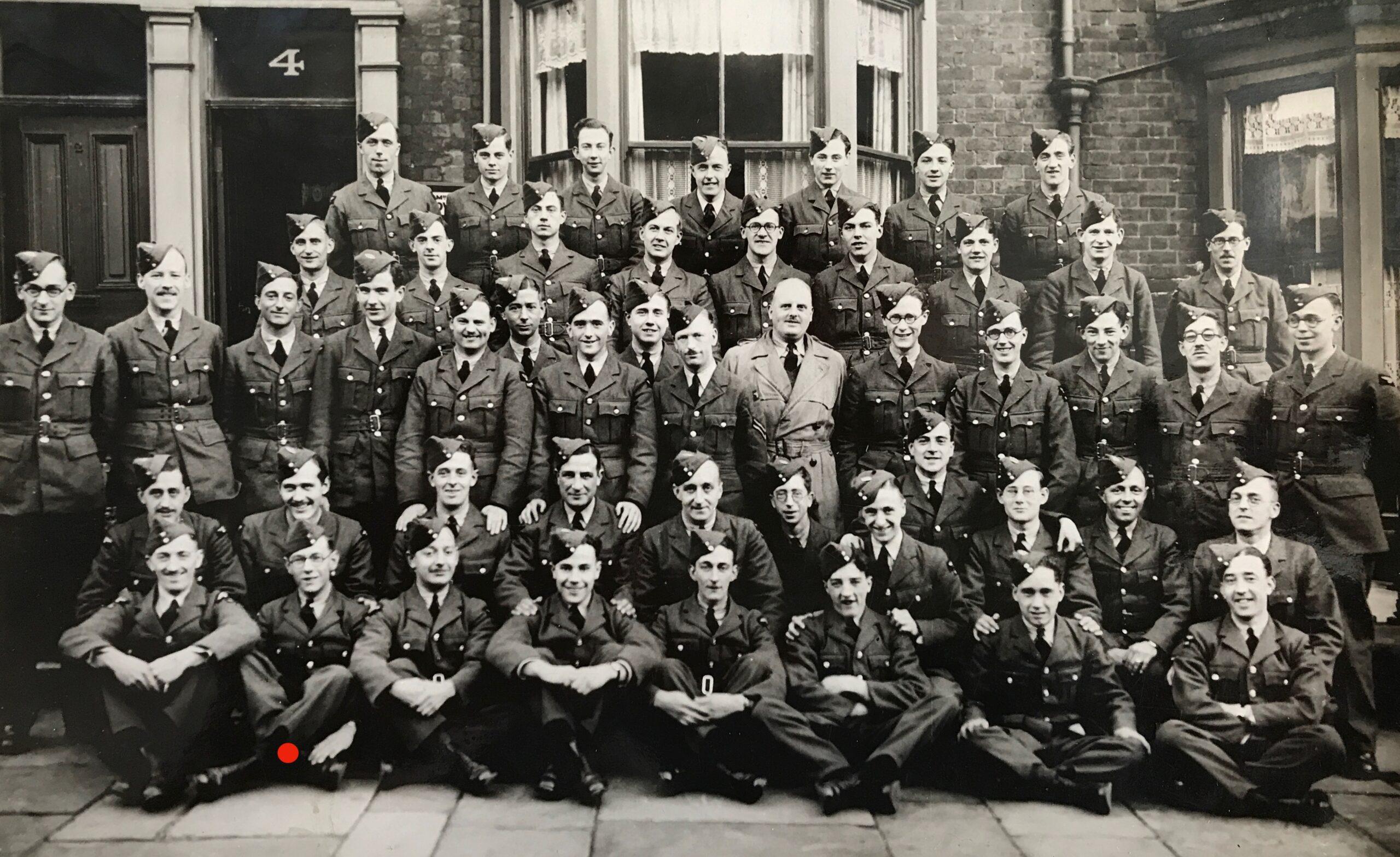 RAF trainees at Blackppol, 1940