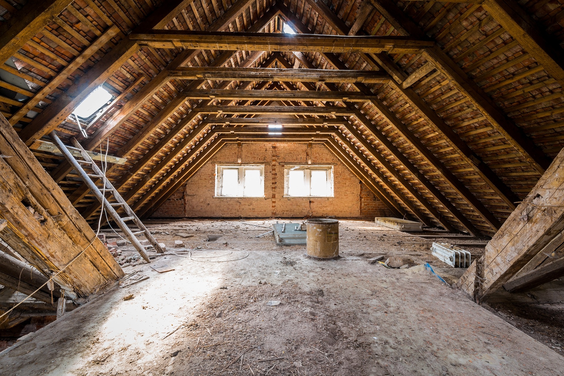 New Attic Insulation Installation