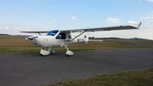 Jabiru Light Sport N772J Front Ramp