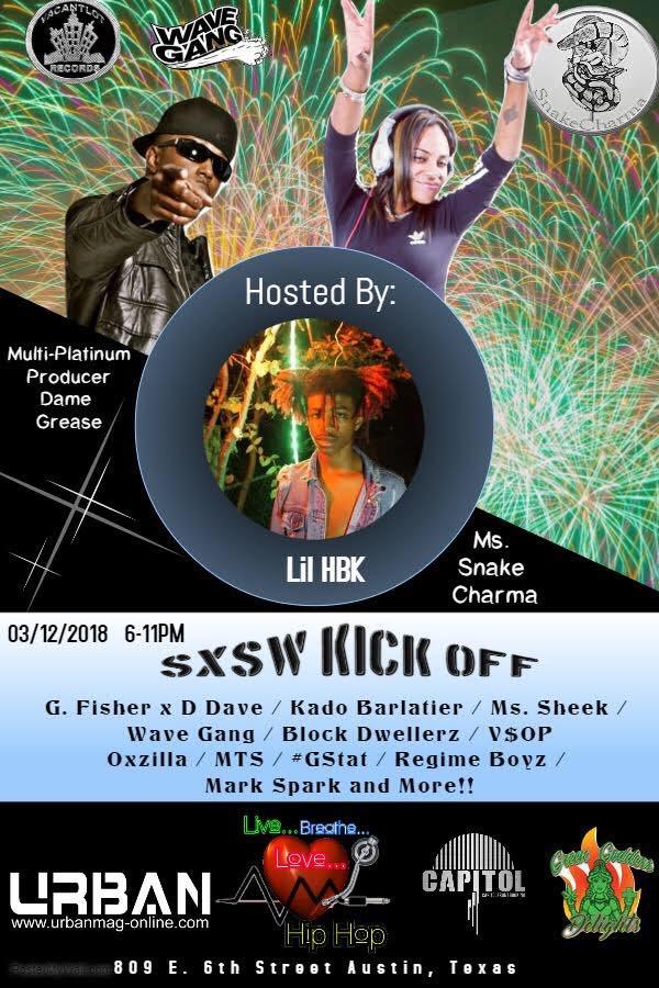 2018 SXSW Kick Off