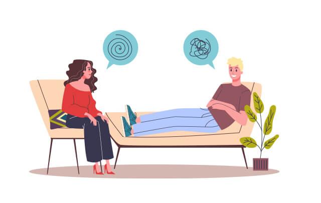 Outpatient addiction treatment session