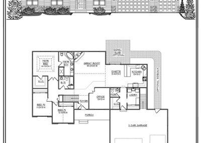 Christine I Ranch 2,198 sq ft design