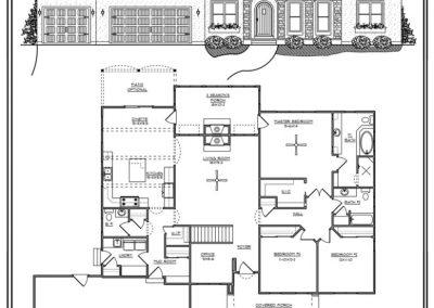 Mediterrraean Ranc 2.164 sq ft design