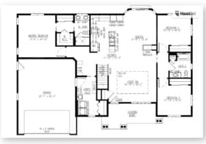 Freedom III Floor plan