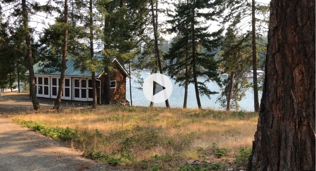 255 McLean Drive Sagle Idaho Waterfront Real Estate for Sale Video Walkthrough MLS 18-7403