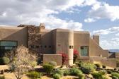 Pueblo Revival Style Home